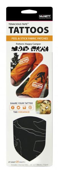 McNett Reparatur Tattoos Tenacious Happy Camper