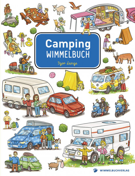 Camping-Wimmelbuch