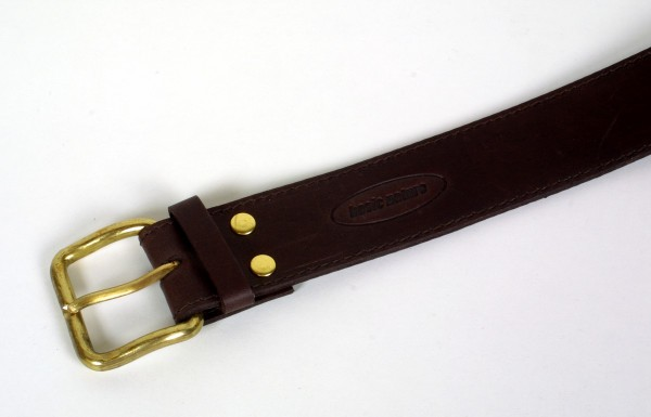 Basic Nature Geldgürtel Classic mokka 110 cm
