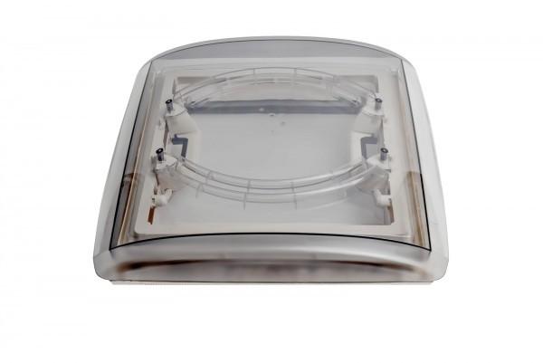 MPK Dachhaube VisionVent 40 x 40 cm mit Innenrahmen grau