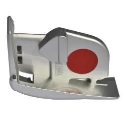Frontblendenverschluss F45Ti links titanium