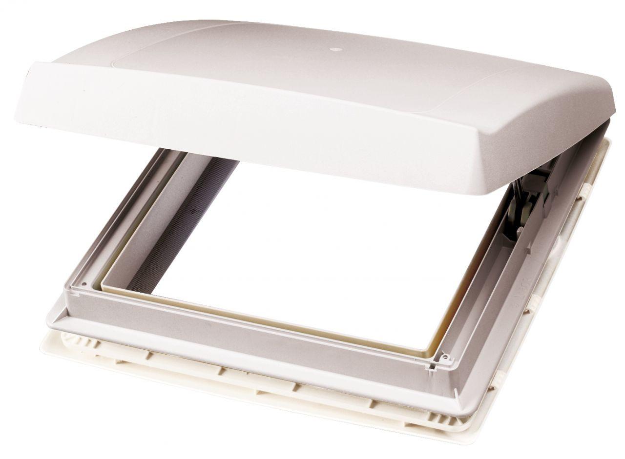 Thule Dachhaube Omnivent weiß 40 x 40 cm mit Ventilator | 4041431893379