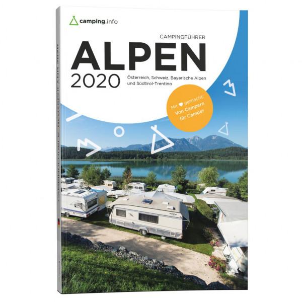 Campingführer Reiseführer Alpen