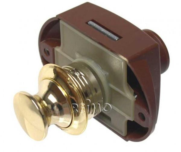 Push-Lock beidseitig betätigbar gold