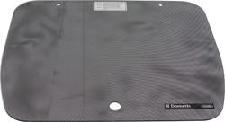Glasabdeckung Punktmuster schwarz für CramerKocher EK 2000 46 x 335cm | 7332464340273