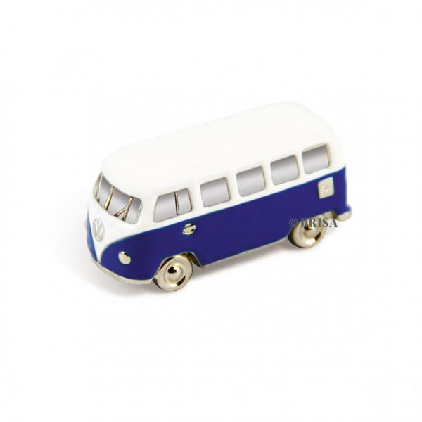 VW Bulli T1 3D Mini Modell mit Magnet blau