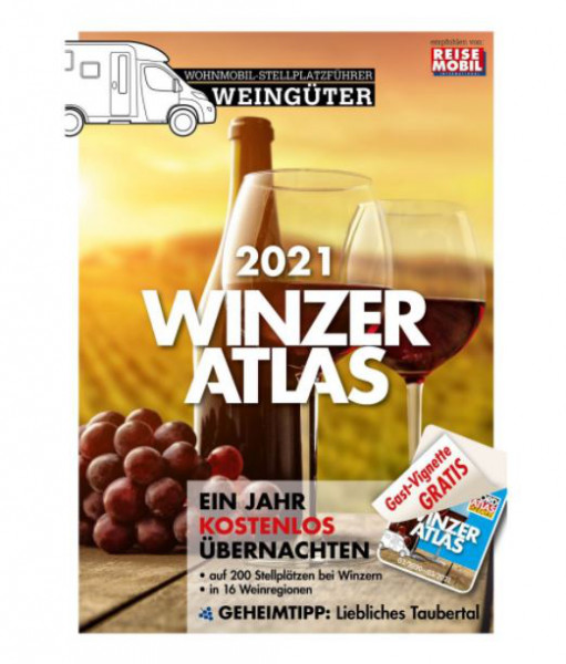 Campingführer Winzeratlas 2021