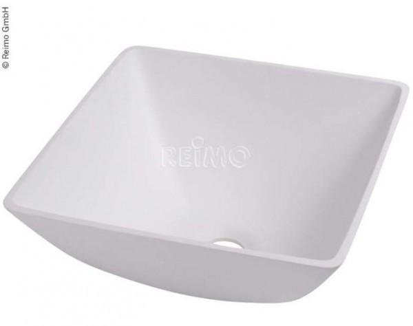 Design-Waschbecken Quadratisch weiß B290xT290xH135 mm