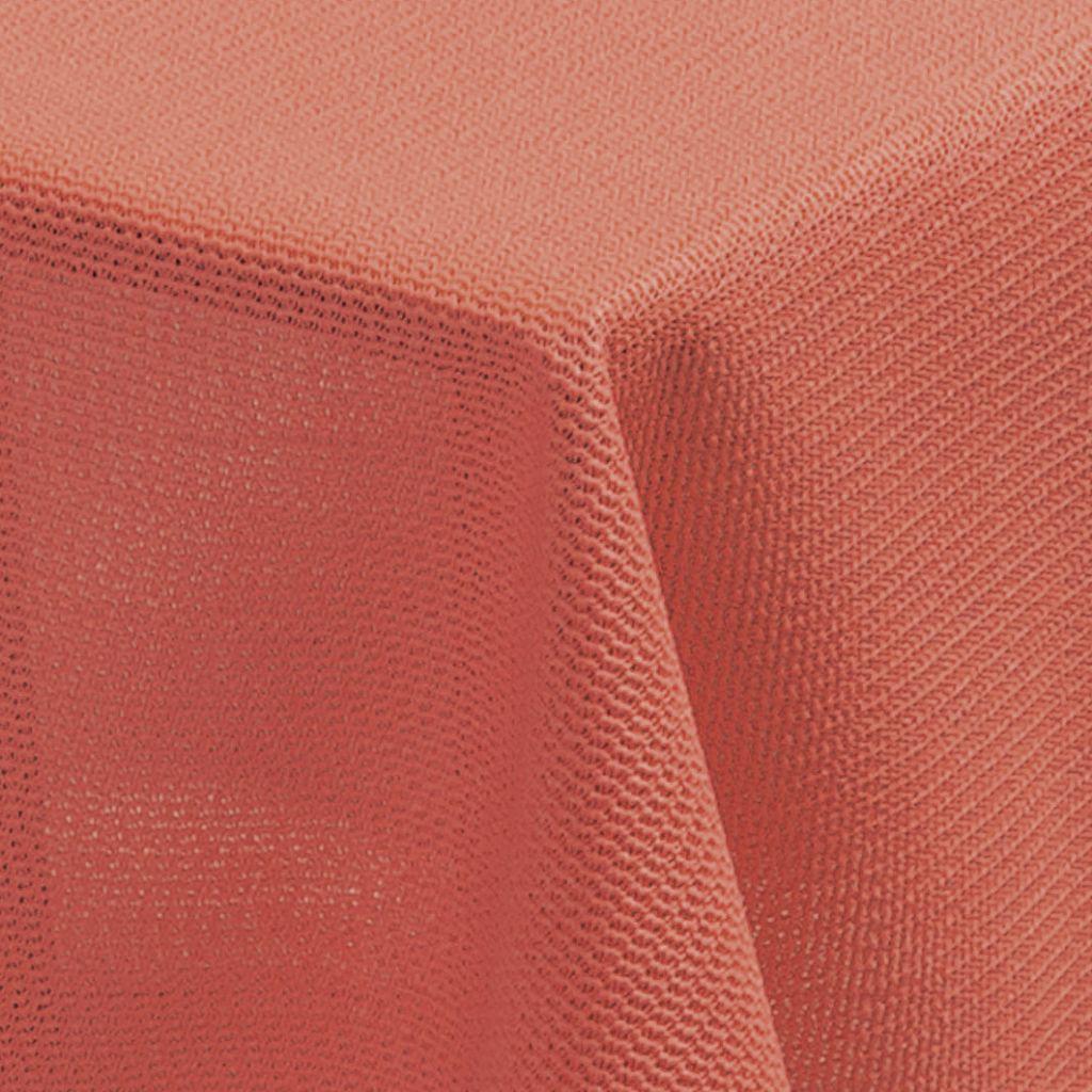 Tischdecke Milano rund 160 cm lachsfarben   4007383206087