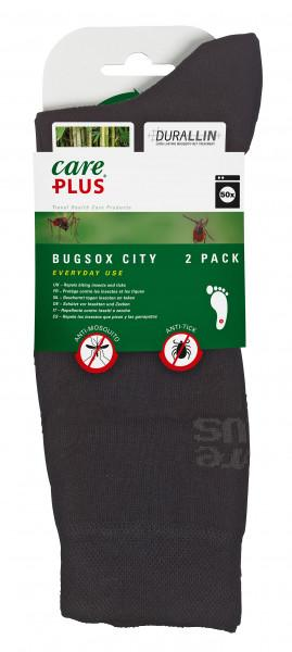 CarePlus® Bugsox City Doppelpack schwarz 44 - 47