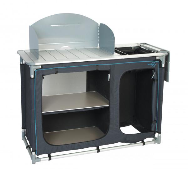 Luxus Camping Küchenschrank mit Spüle und Windschutz | Küchentische ...