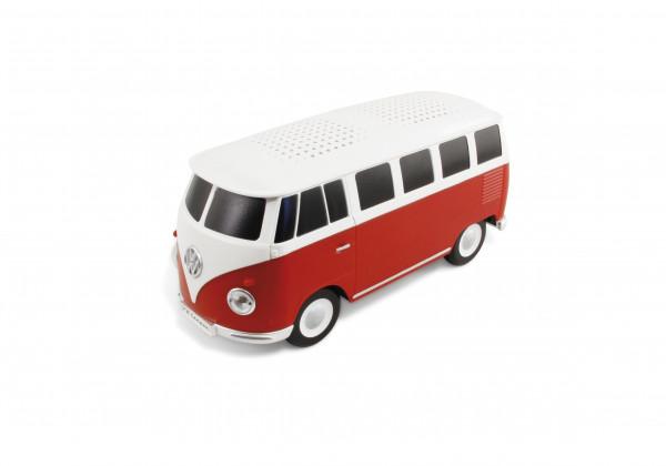 VW Bulli T1 Bluetooth Lautsprecher rot