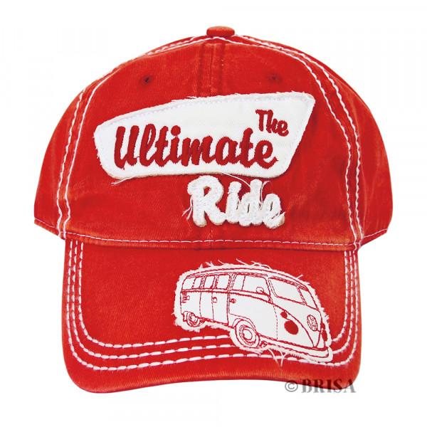 VW Bulli T1 Baseball Cap The Ultimate Ride rot