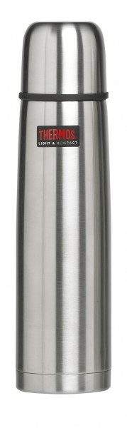 Thermos Isolierflasche 'Light & Compact' 1 L, edelstahl