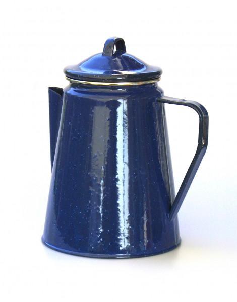 Ersatzdeckel zu Emaille Kaffeekanne blau