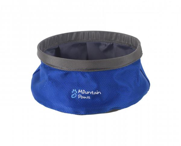 Mountain Paws Wasserschüssel faltbar S, blau