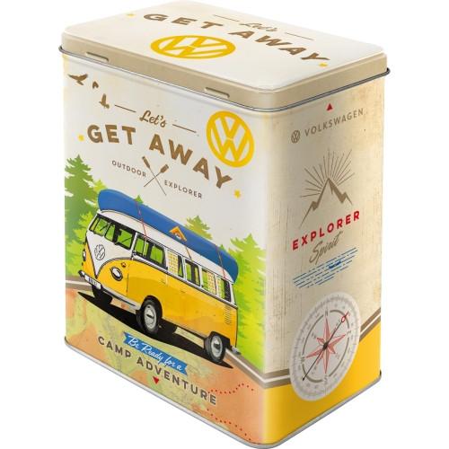 VW Bulli T1 Vorratsdose Let's Get Away
