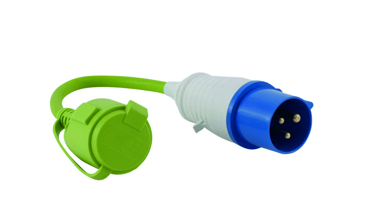Outwell Adapter CEEStecker  SchukoKupplung | 5709388049155