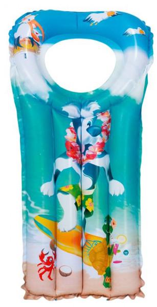 Aufblasbare Kindermatratze 110 cm Hawai