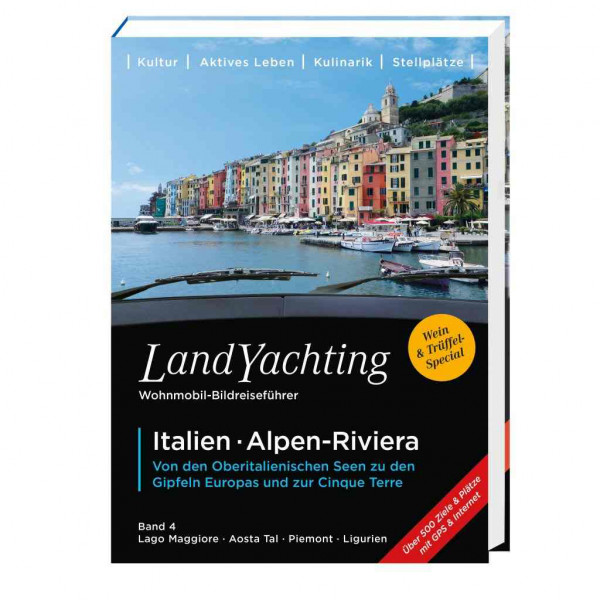 LandYachting Wohnmobil-Bildreiseführer Italien-Alpen-Riviera
