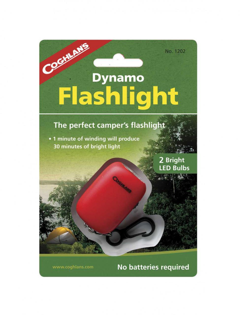 Coghlans Mini Dynamo Lampe | 056389012028