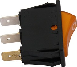 Wippschalter Zündgerät, orange für Dometic-Kühlschränke, Nr. 292627520/3