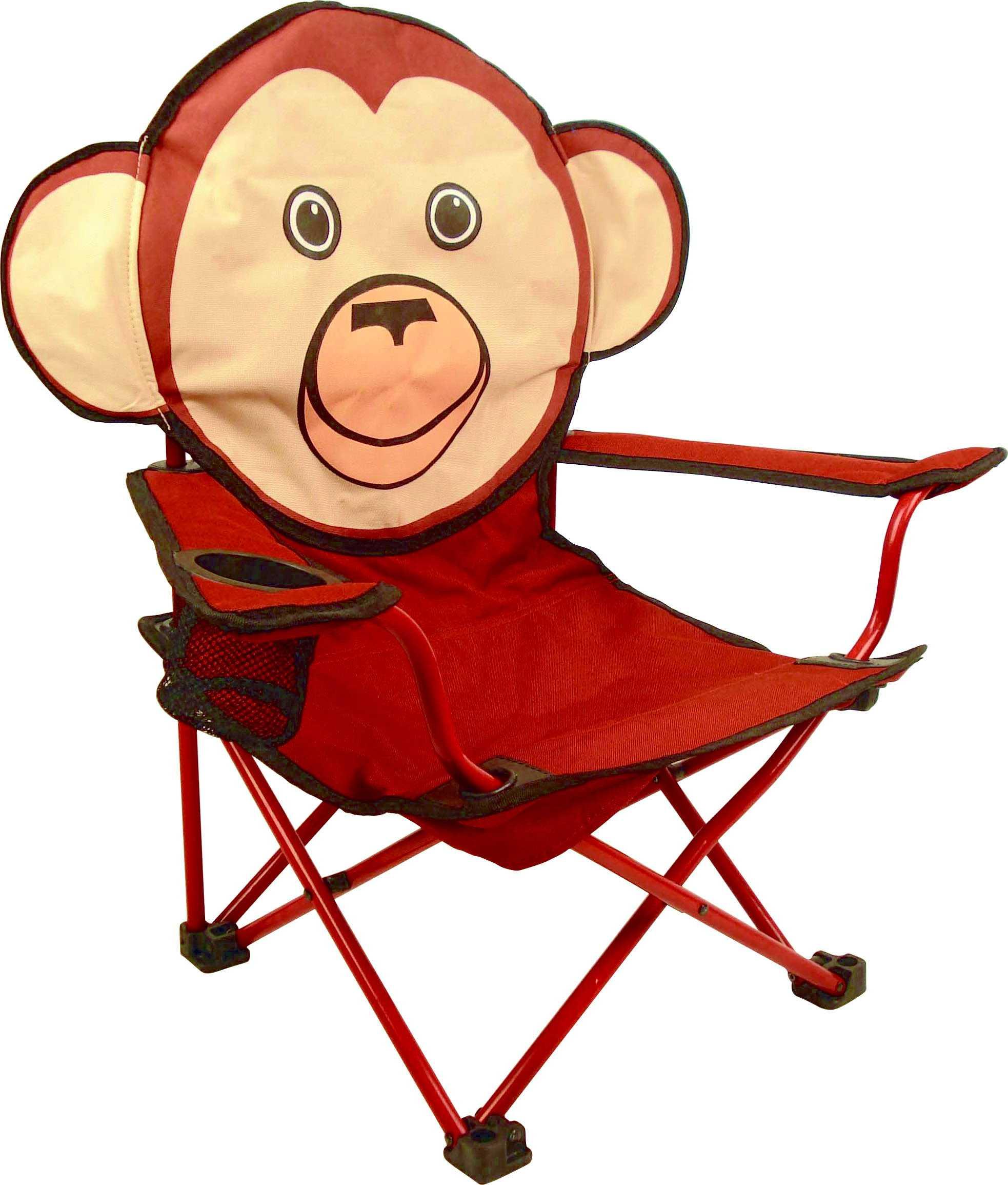 kinder faltstuhl affe camping outdoor zubeh r. Black Bedroom Furniture Sets. Home Design Ideas