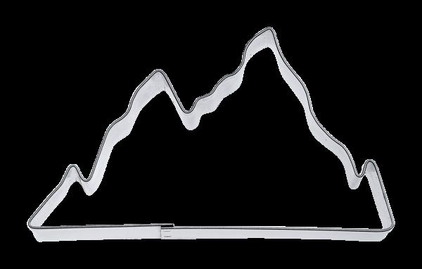 Keks-Ausstecher Berge