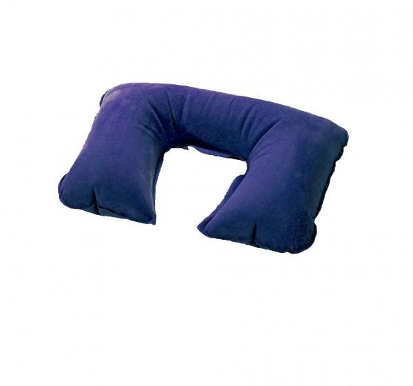 Nackenkissen aufblasbar blau