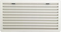 Thetford Lüftungsgitter weiß für Kühlschränke, 52,3 x 28,2 cm (groß)