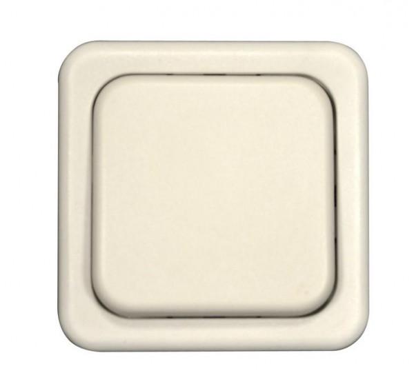 System 10.000 Wippschalter-Einsatz 1-polig grau