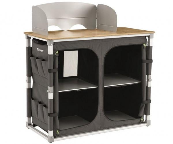 Outwell Padres XL Küchentisch mit Bambustischplatte
