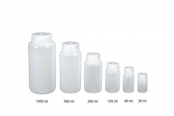Nalgene Weithalsflasche, rund 125 ml, Hals Ø 28 mm