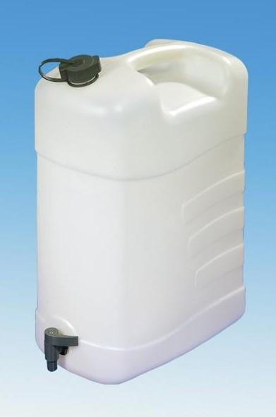 Combi Wasserkanister 35 Liter mit Ablasshahn