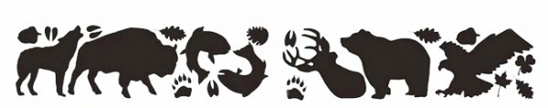 GearAid Reparatur Tattoos Tenacious Wildlife