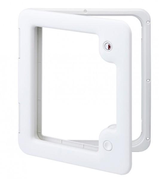 Thetford Serviceklappe 349 × 296 mm lichtgrau