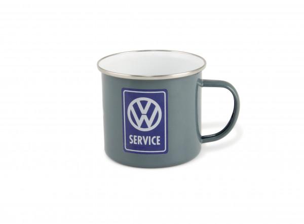 VW Bulli T1 Becher Emailliert 500 ml VW Service