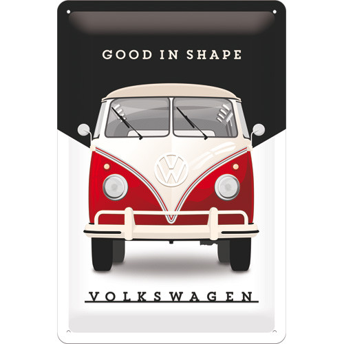 VW Bulli T1 Blechschild Good In Shape