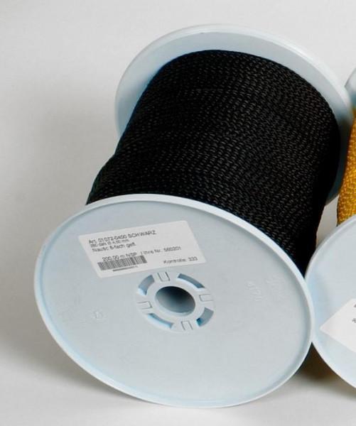 Seil 30 Meterrolle 4 mm schwarz