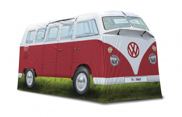 VW T1 Bus 4 Personen Campingzelt rot