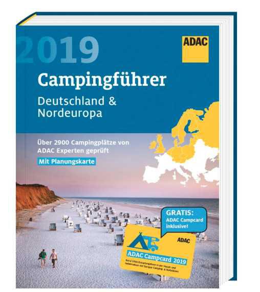 ADAC Camping-Caravaning-Führer Deutschland 2019