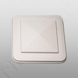 Weippert-Dachhaube weiß 575 x 575 mm