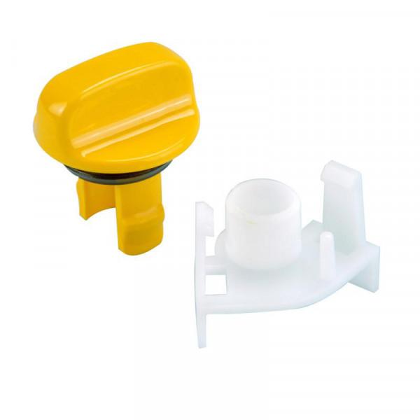 Liukusäätimen nuppi keltainen C 200 - WC-varaosat ja tarvikkeet - 9956223 - 1