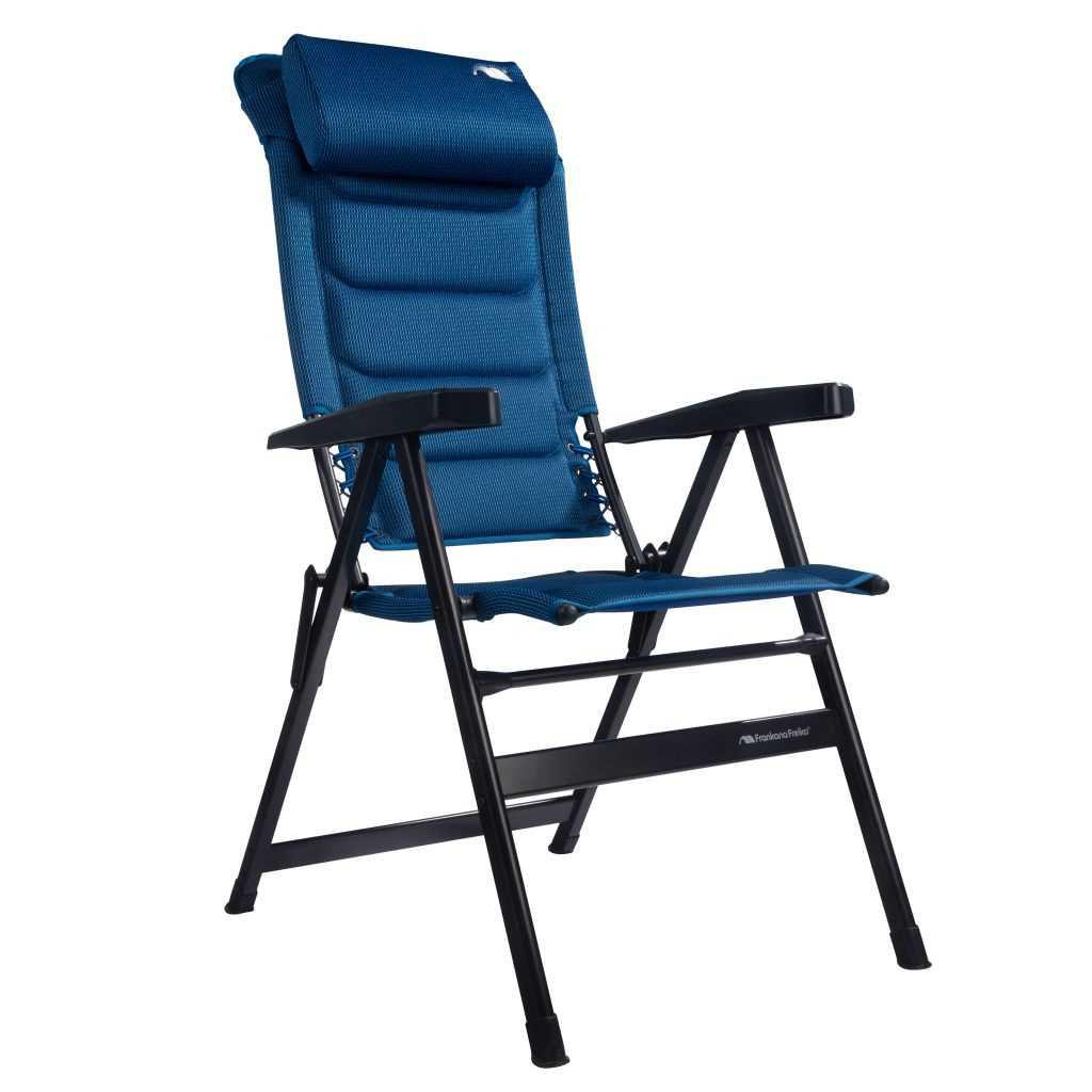 Campingstuhl HighQ Comfortable Blueline   4260556143095