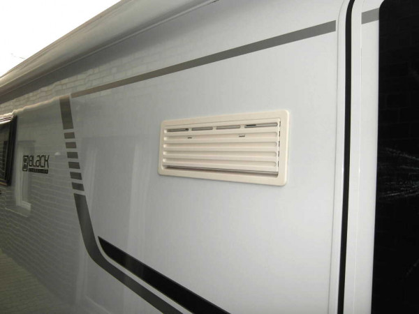 Winterabdeckung, weiß für Thetford-Kühlschränke