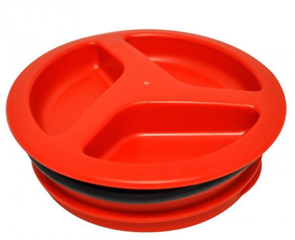 Schraubstopfen rot für Wassertank S 12-04 120 mm mit Dichtung
