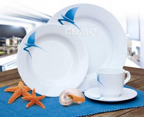 Melamin Geschirr Set Albatross 8-teilig für 2 Personen