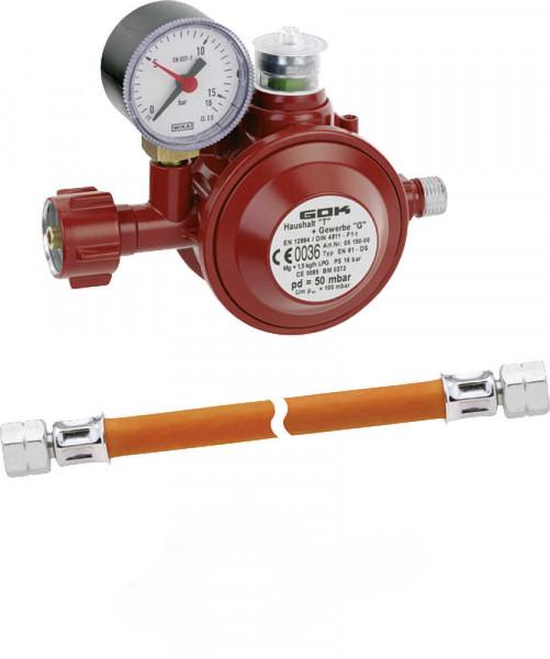 Gasregler Set Typ EN 61 DS Außenbereich