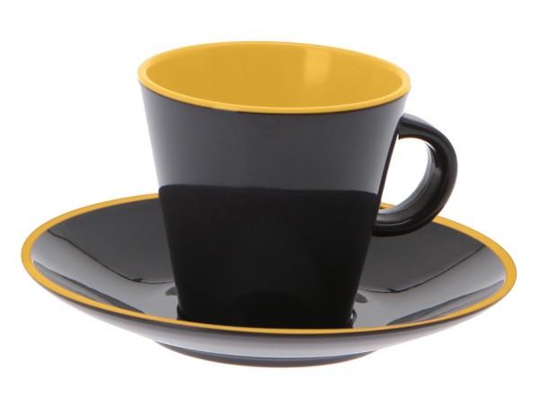 Gimex Espresso-Set gelb