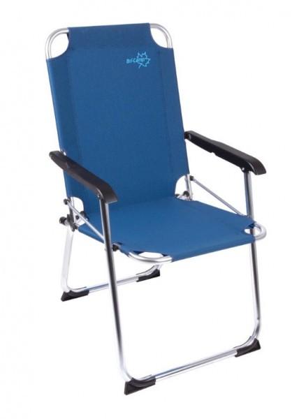 Klappstuhl  Alu Camping Klappstuhl blau | Campingshop-24